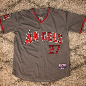 Majestic Shirts - Los Angeles Angels of Anaheim Road Jersey